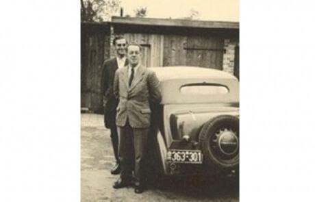 Firmenfahrzeug aus dem Jahre 1955
