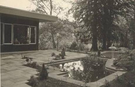 Garten aus dem Jahre 1965