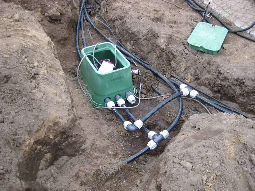 Die Montage von Bewässerungsanlagen