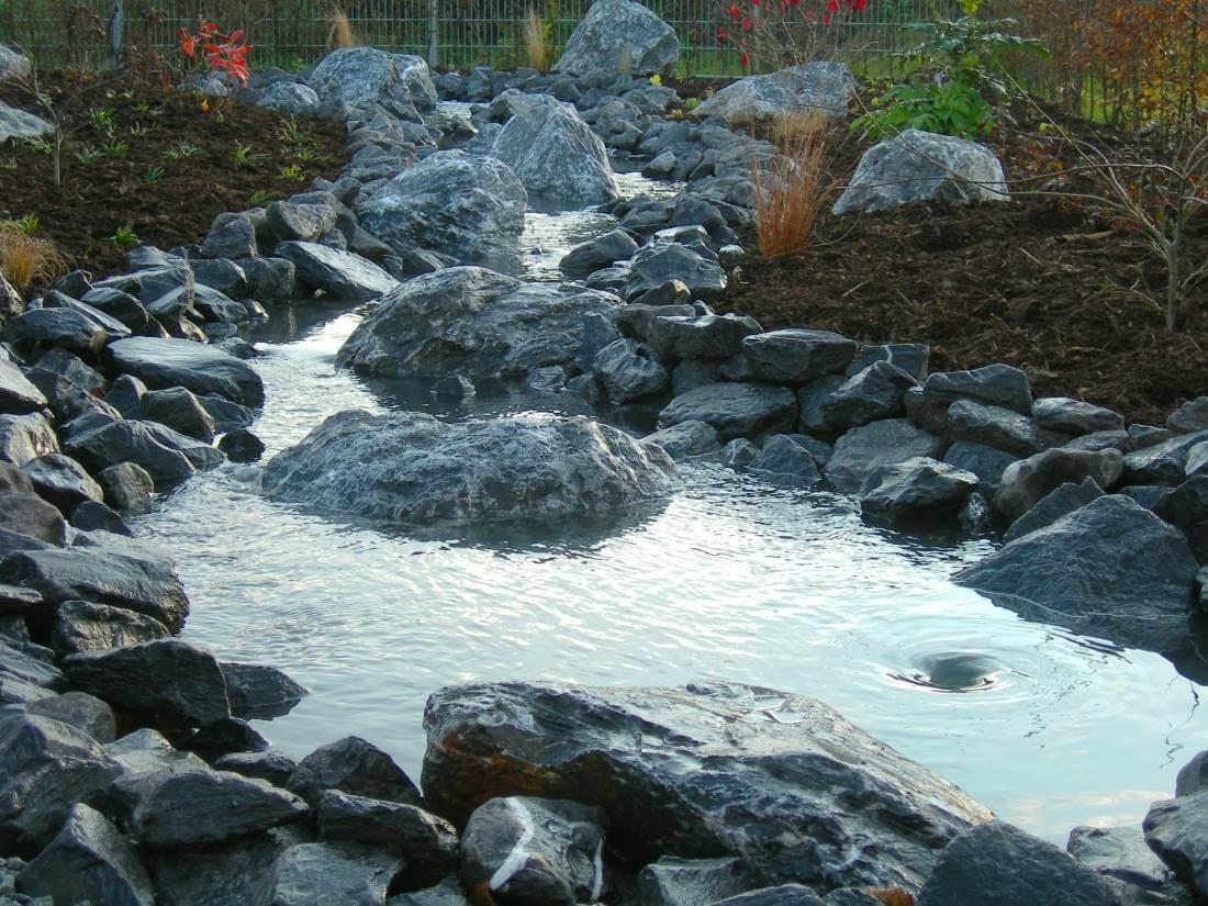 wasserfall | galabau mähler | bachlauf garten, Garten ideen