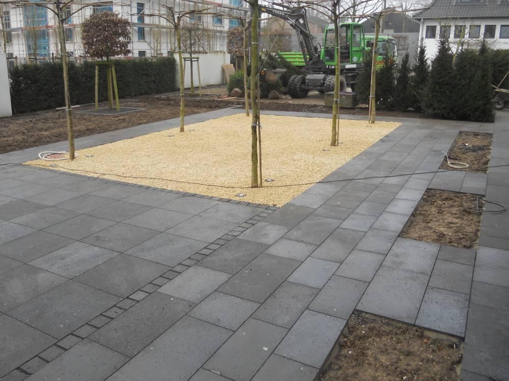 Basaltlavaplatten terrasse traumgarten - Terrasse natursteinplatten ...