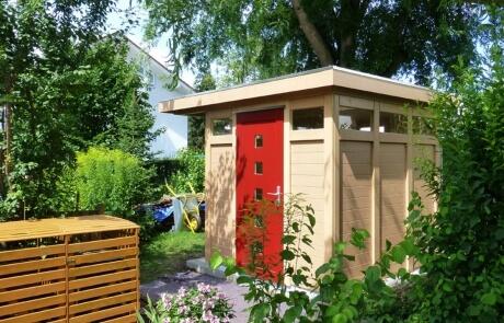 Gartenhaus ´Modern Style´mit Flachdach
