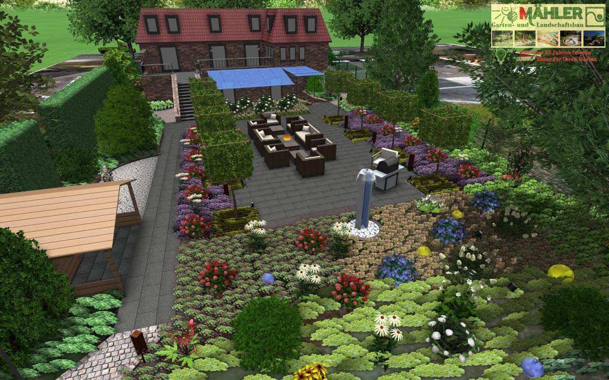 Gartenplanung Beispiele Kostenlos