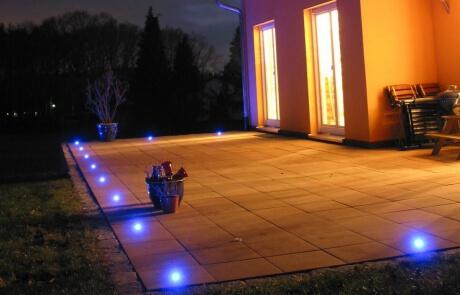 LED Einbauleuchten Terrasse