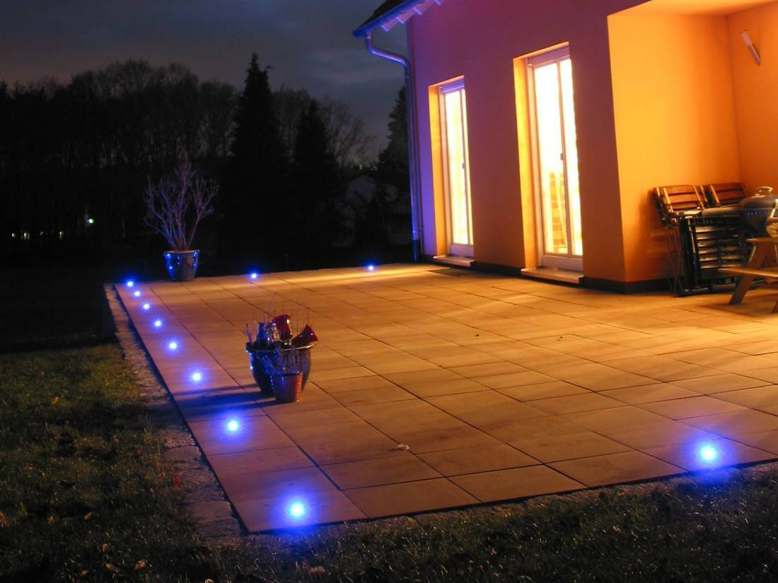 Led einbauleuchten terrasse traumgarten for Led einbauleuchten