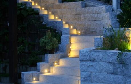 LED Einbauleuchten Treppe