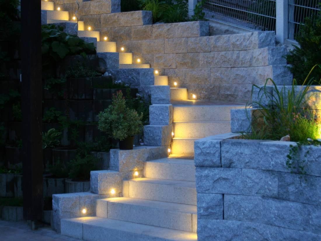 Led einbauleuchten treppe traumgarten for Led einbauleuchten