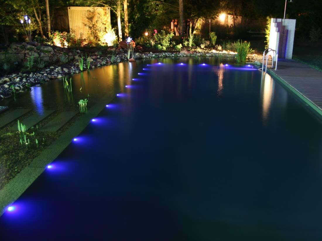 LED Leuchtpunkte Garten