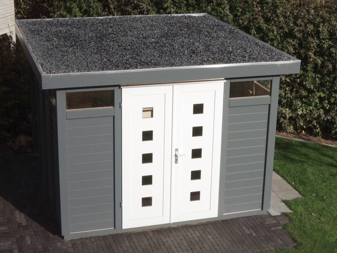 gartenhaus modern style galabau m hler gartenhaus. Black Bedroom Furniture Sets. Home Design Ideas