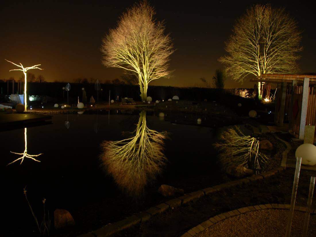 Fabulous Licht im Garten | Galabau Mähler | Gartenstrahler TD12