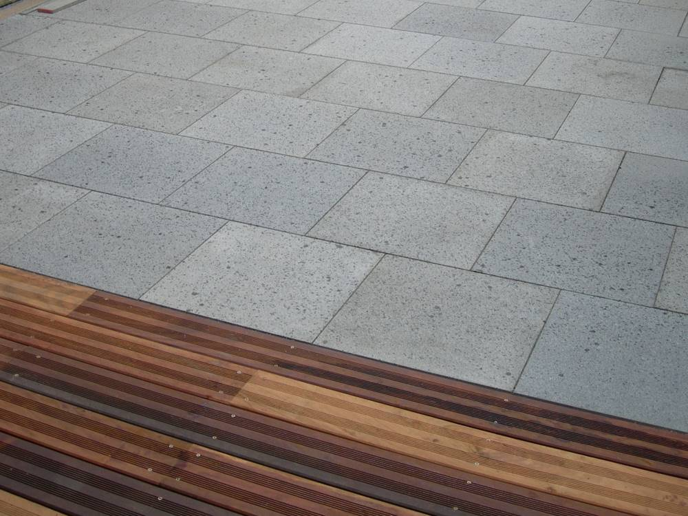 Natursteinplatten Terrasse