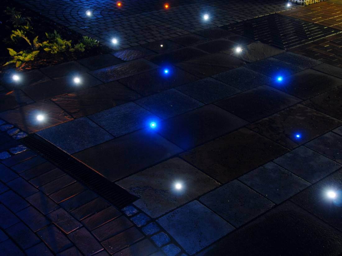 Terrasse mit led beleuchtung traumgarten for Beleuchtung led