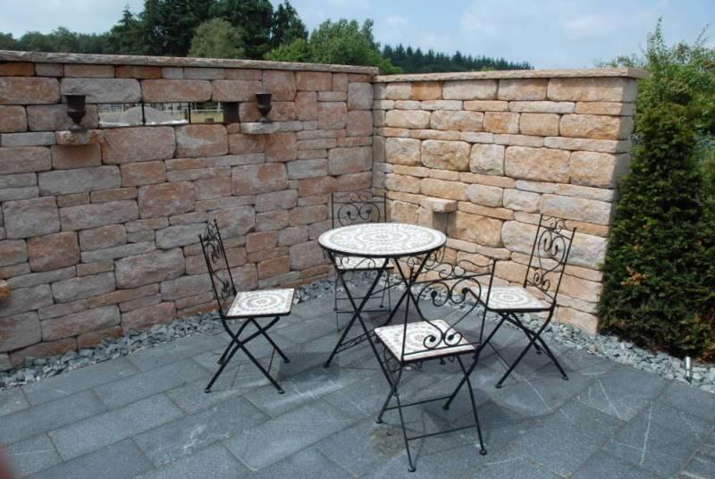 Emejing Steinmauer Garten Mediterran Ideas - House Design Ideas ...