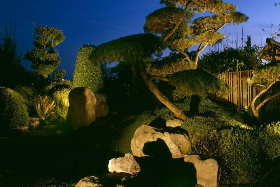 Galabau Mähler Gartenbeleuchtung