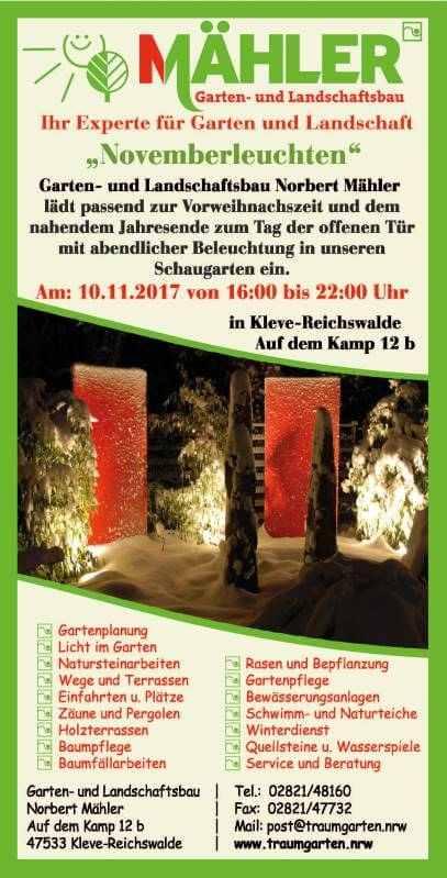 flyer. galabau wagner & günther :::. gartenbau meisterbetrieb ...